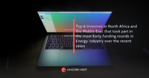 Top 6 investors in North Africa and the Middle East that took part in the most Early funding rounds in Energy industry over the recent years